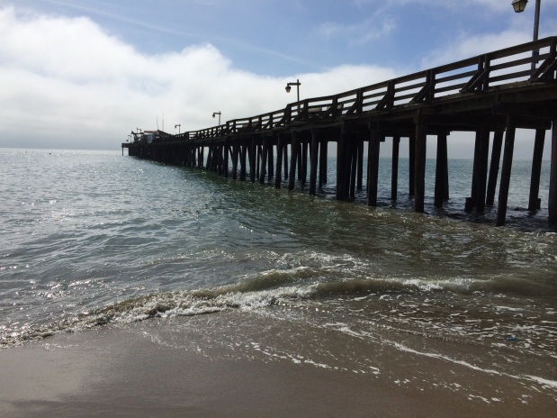 Our week at Capitola Beach