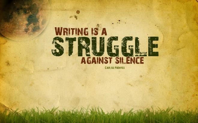writing struggle